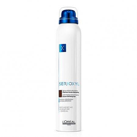 Loreal Serioxyl, spray wzmacniający włosy, ciemny brąz, 200ml