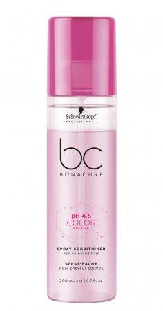 Schwarzkopf BC Color Freeze pH 4.5, dwufazowa odżywka chroniąca kolor, 200ml