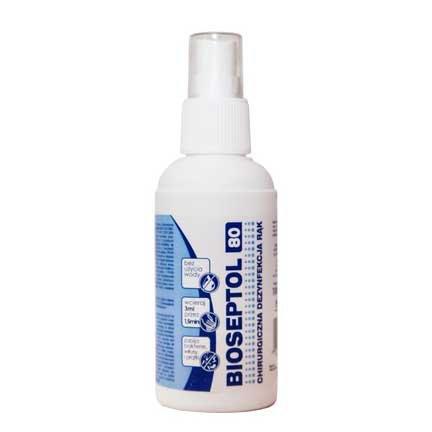 Bioseptol 80, płyn do dezynfekcji, 100ml