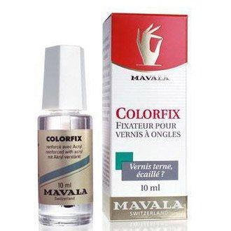 Mavala Colorfix, utwardzacz przedłużający żywotność lakieru z akrylem, 10ml