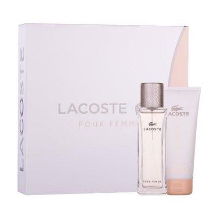 Lacoste Pour Femme, zestaw pferum, EDP 50ml+100ml balsam do ciała (W)