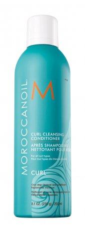 Oczyszczająca odżywka do włosów kręconych Moroccanoil Curl, 250ml - wgniecenie