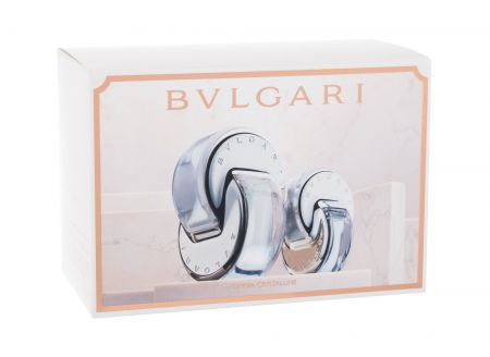 Bvlgari Omnia Crystalline, zestaw: Edt 65ml + 15ml Edt (W)