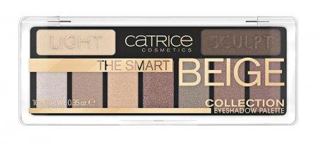 Catrice The Smart Beige Collection Eyeshadow 010, paleta cieni do powiek