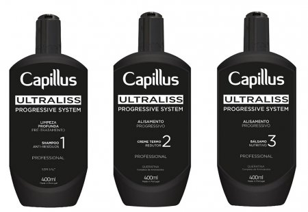 Capillus Ultraliss, zestaw do nanoplastii, 3x400ml