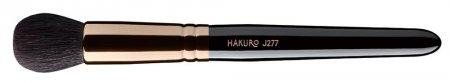 Hakuro J277, pędzel do pudru, konturowania i różu, czarny