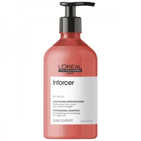 Loreal Inforcer, szampon do włosów łamliwych, 500ml
