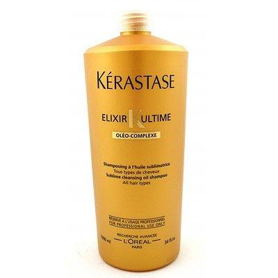 Kerastase Elixir Ultime, luksusowy szampon z olejkami, 1000ml