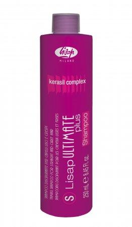 Lisap Ultimate, szampon do włosów prostowanych i kręconych, 250ml