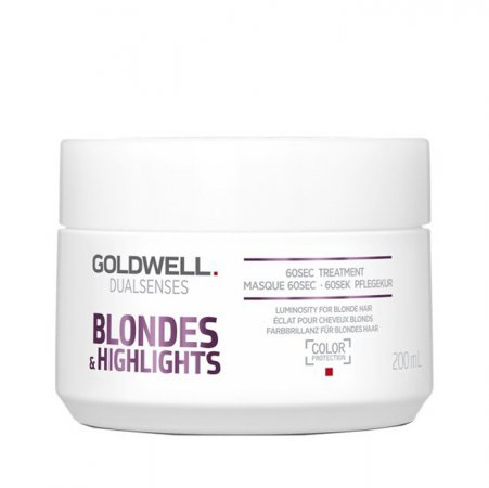 Goldwell Dualsenses Blondes & Highlights, 60-sekundowa kuracja neutralizująca, 200ml
