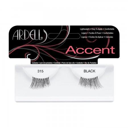 Ardell Accent, #315 Black, połówki rzęs