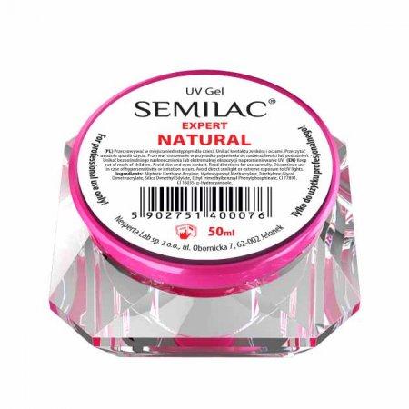 Semilac UV Gel Expert Natural, żel do paznokci, 50ml