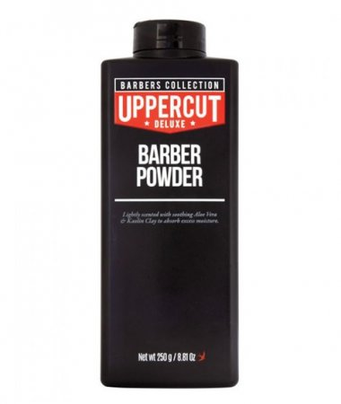Uppercut Deluxe Barber Powder, talk barberski, 250g