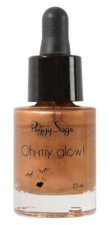 Peggy Sage Oh My Glow, bronzer w płynie, 15ml, ref. 803490
