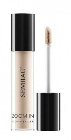 Semilac Makeup Zoom In, mocno kryjący korektor pod oczy, 01 Fair