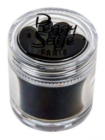Peggy Sage, samoprzylepna folia do wzorów na paznokciach, czarna, ref. 149714
