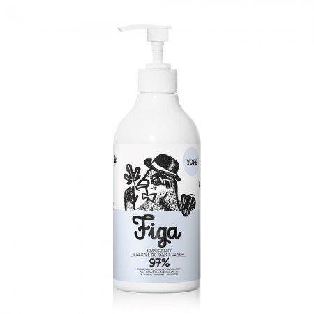 Yope, naturalny balsam do rąk i ciała, figa, 500ml