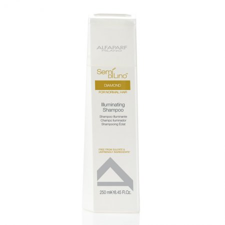 Alfaparf Semi di Lino Diamond, szampon rozświetlający, 60ml