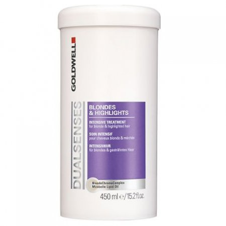 Goldwell Dualsenses Blondes&Highlights, intensywny balsam do włosów blond i z pasemkami, 450ml
