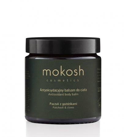 Mokosh, antyoksydacyjny balsam do ciała, paczuli z goździkami, 120ml