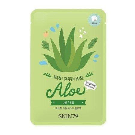 SKIN79, Fresh Garden - Aloe, aloesowa maska w płacie, 23g