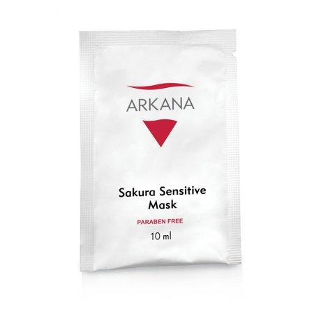 Arkana Sakura Sensitive Mask, terapeutyczna maska wyciaszająca, 10ml