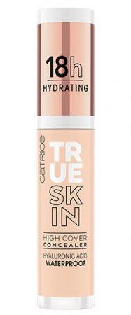 Catrice True Skin High Cover, nawilżający korektor mocno kryjący, Warm Macadamia 005, 4,5ml