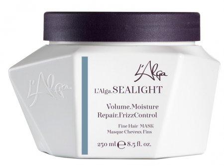 L`Alga Sealight, lekka maska regenerująca do włosów cienkich, 250ml