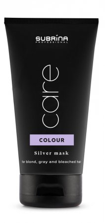 Subrina Colour Silver Care, maska do włosów blond, 150ml