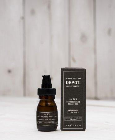 Depot No. 505, olejek odżywczy do brody, wanilia, 30ml