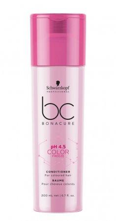 Schwarzkopf BC Color Freeze pH 4.5, odżywka do włosów farbowanych, 200ml