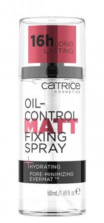 Catrice Oil-Control, matujący spray utrwalający makijaż, 50 ml