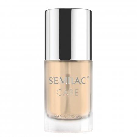 Semilac Nail&Cuticle Elixir, oliwka do paznokci i skórek, Dream Colloidal Gold
