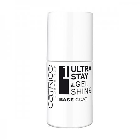 Catrice, baza pod lakier, Ultra Stay & Gel Shine