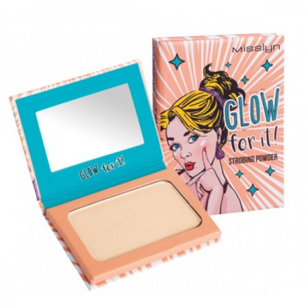 Misslyn Pop Up Your Make-up, Strobing Powder, puder rozświetlający