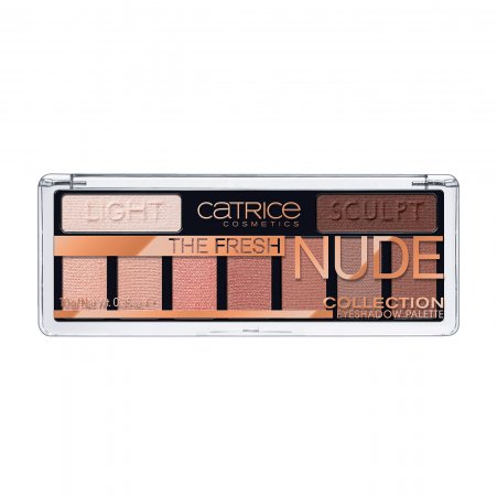 Catrice The Fresh Nude Collection, paleta cieni do powiek