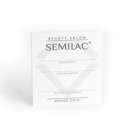 "Semilac Beauty Salon, bloczki ""kolejna wizyta"", 10 szt."