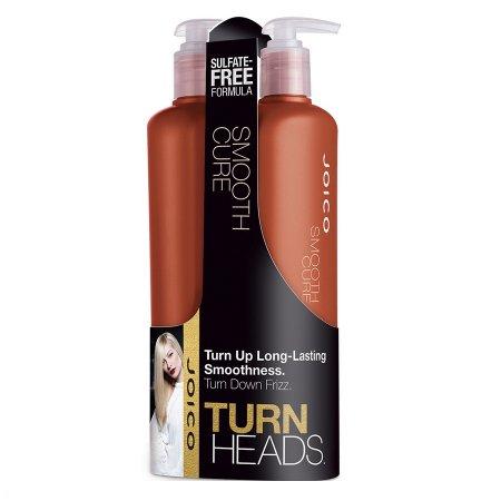 Joico Smooth Cure, zestaw wygładzający włosy bez siarczanów, szampon+odżywka, 2x500ml