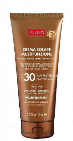 Pupa Multifunction Sunscreen, krem przeciwsłoneczny SPF30, 75ml