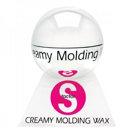 Tigi S-Factor Creamy Molding Wax, wosk do modelowania, 50g