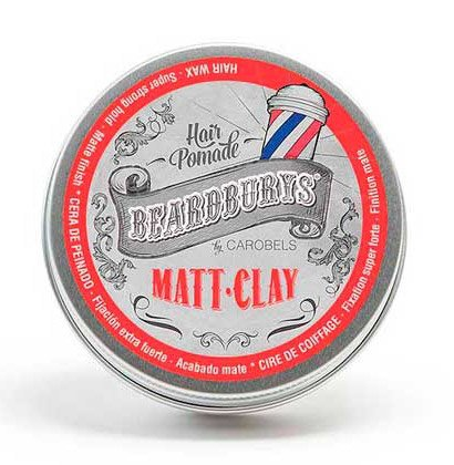 Beardburys Matt-Clay, glinka do włosów, 30ml