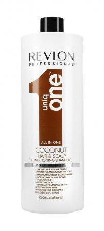 Revlon Uniq One, szampon z balsamem, kokosowy, 10 korzyści, 1000ml
