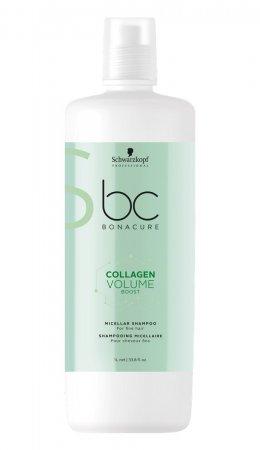 Schwarzkopf BC Volume Boost, micelarny szampon do cienkich włosów, 1000ml