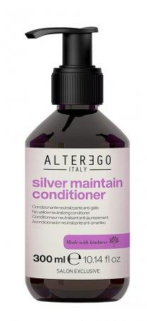 Alter Ego Silver Maintain, odżywka neutralizująca żółte odcienie, 300ml