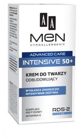 AA MEN Advanced Care Intensive 50+, Krem do twarzy odbudowujący, 50ml