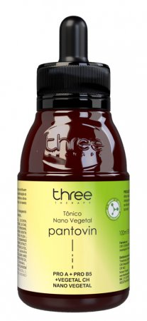 Three Therapy Pantovin Leave-in, kuracja wzmacniająca włosy wrażliwe i zniszczone, 100ml