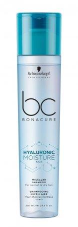 Schwarzkopf BC Moisture Kick, micelarny szampon nawilżający, 250ml