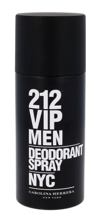 Carolina Herrera 212 VIP Men, dezodorant, 150ml (M)