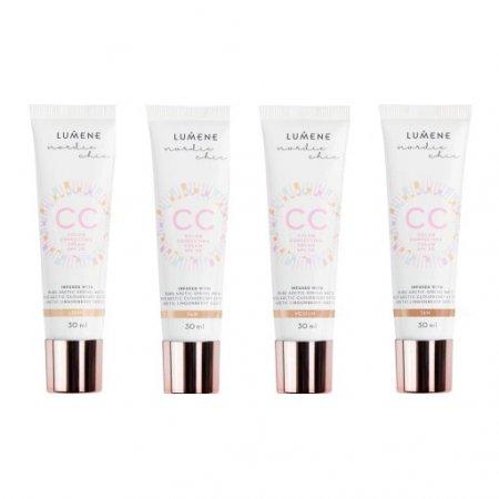 Lumene CC Color Correcting Cream, podkład 7w1 CC, 30ml