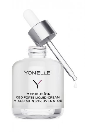 Yonelle Medifusion, płynny krem z CBD Forte, cera mieszana, 50ml